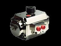 attuatori pneumatici rotanti alpha pompe